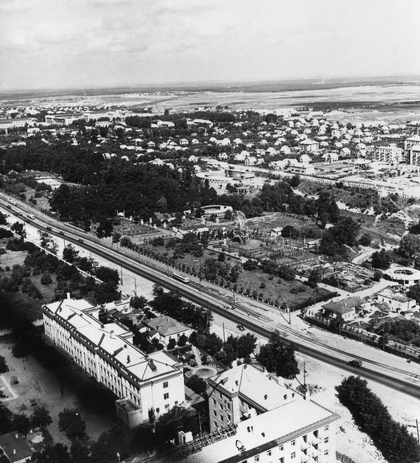 1958. Панорама Нивок. Фото: Угринович Г.