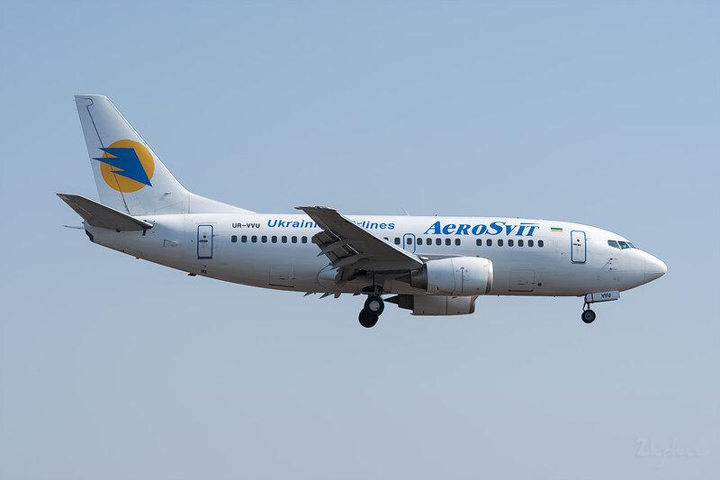 Boeing 737-5Q8 (UR-VVU) Аэросвiт DSC_9437
