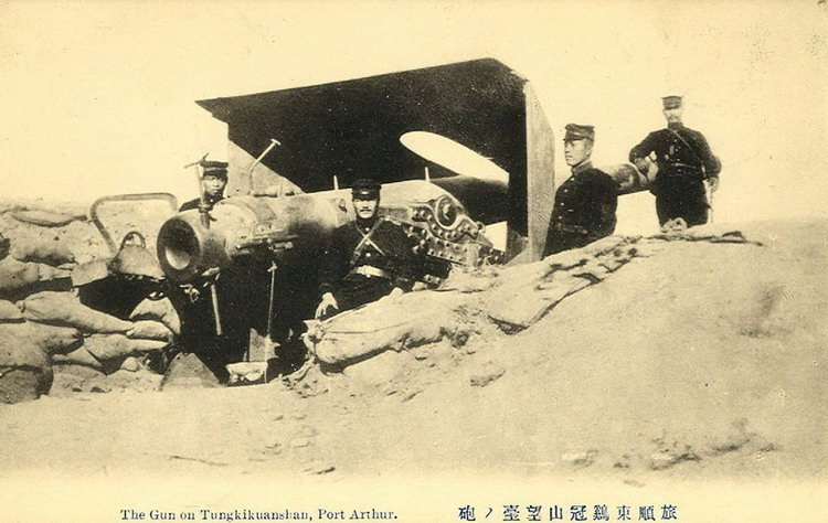 Port Arthur - the gun on Tungkikuanshan.jpg