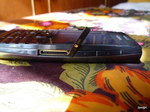Nokia X2-02 (слот второй сим-карты)