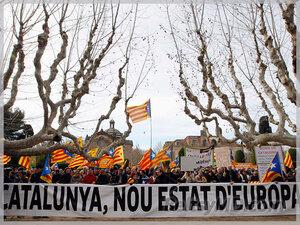 Каталония борется ЗА независимость — референдум