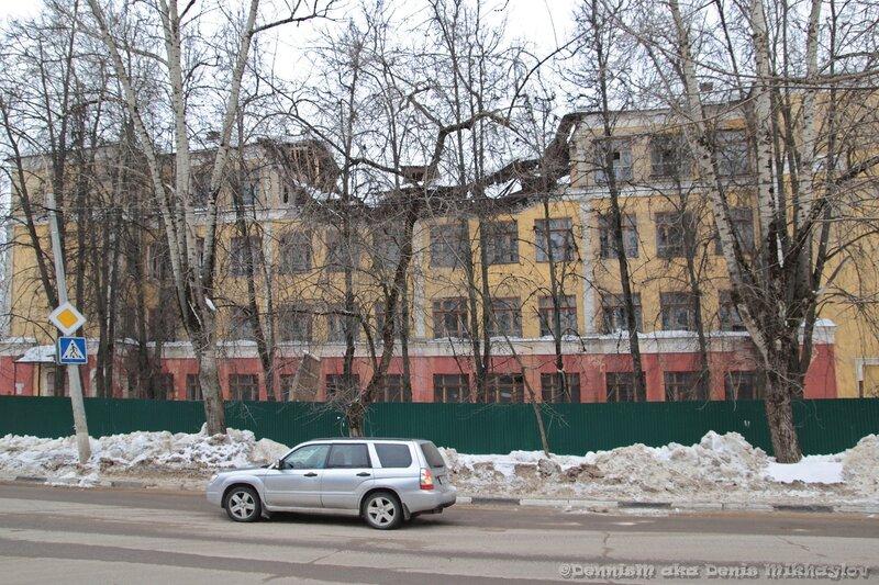 Фрязино. Здание бывшей школы №1.