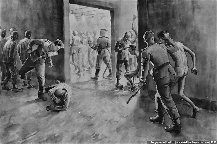Рисунки узников Освенцима. 0_b8505_f7e49992_orig