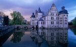 y2278 Castle, North Rhine-Westphalia<br /> Dortmund, castle Bodelschwingh<br /> <br /> Wasser Br&#40670;ke Spiegelung Ufer Wasserschlo?Schlo?Schl&#39951;ser und Herrenh&#37599;ser<br /> <br /> <br /> <br /> original
