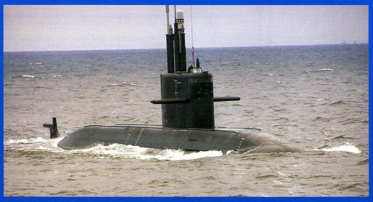 подводная ялик  проекта 677 калина
