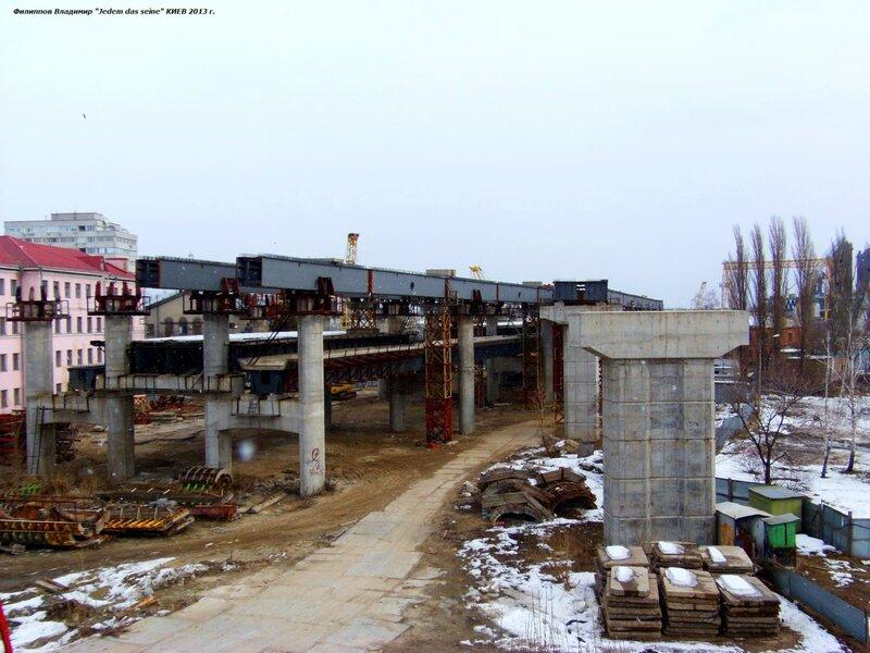 Строительство нового моста.