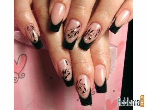Рисунки для наращивание ногтей