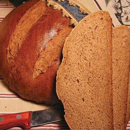Ржаной хлеб в домашних условиях с солодом