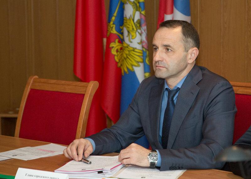Глава городского округа Краснознаменск Михаил Сапунов