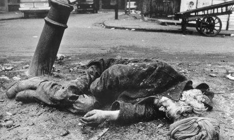 Homeless man London 1969