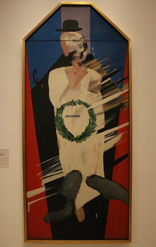 Дэвид Хокни (David Hockney), Памяти Сечино Браччи (In Memoriam of Cecchino Bracci), 1962.