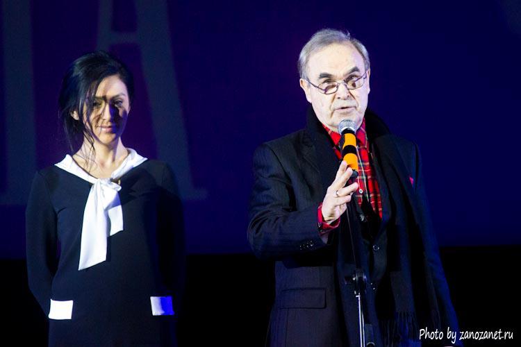 Глеб Панфилов. Церемония закрытия фестиваля Святая Анна 2013.