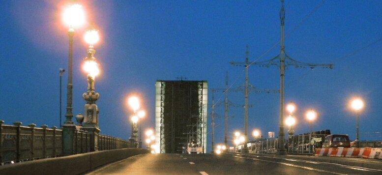Троицкий мост (разведённый)