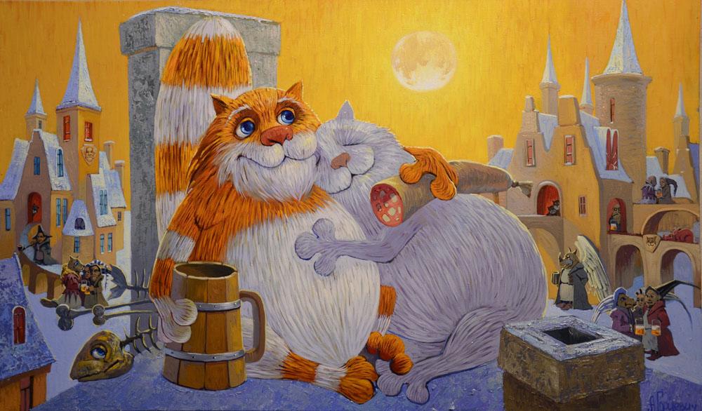 Коты воители рисунки в паинте картинки такие как