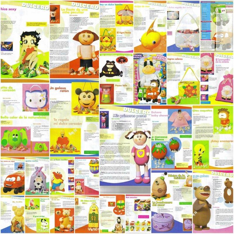 Выкройки мягких игрушек самое интересное в блогах