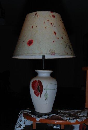 Лампа с маками