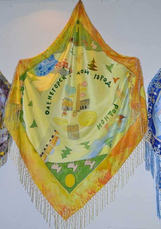 Выставка «Ласка шерсти, нежность шелка»