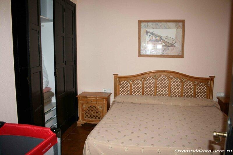 Спальня в 1-спальном апартаменте в Los Cardones