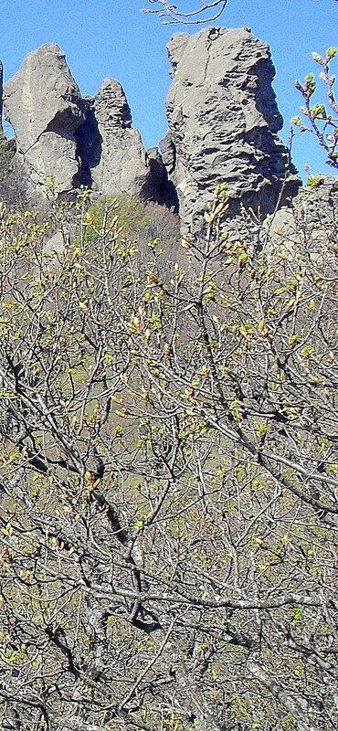 Весна 2010, Туапсинский район, скалы Индюка