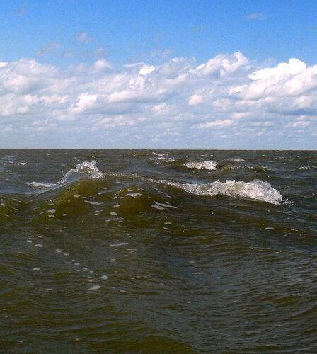 Волны в августе