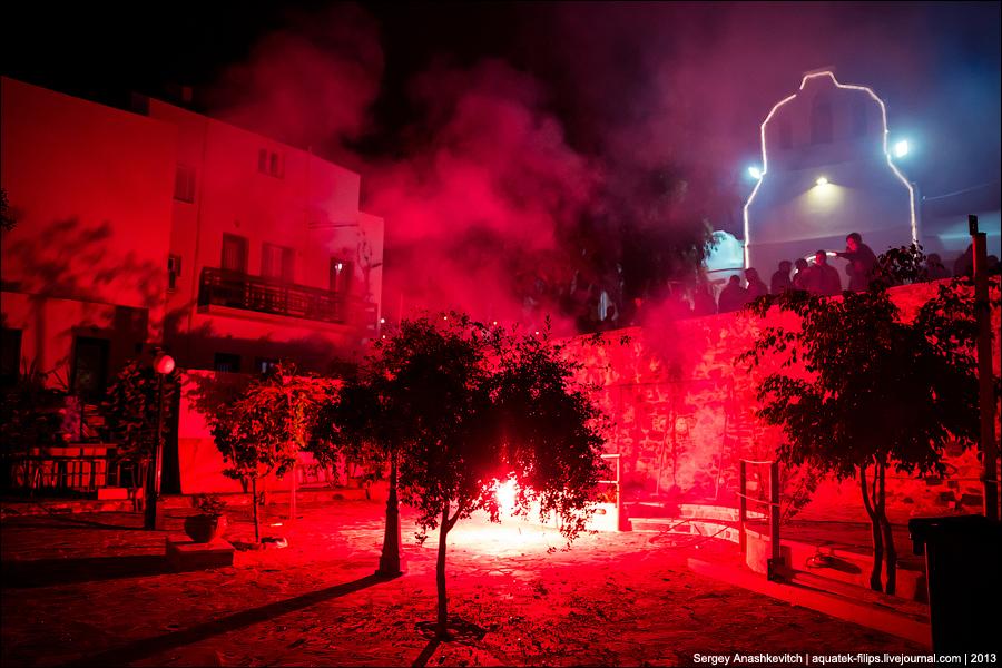 Празднование Пасхи на греческих островах