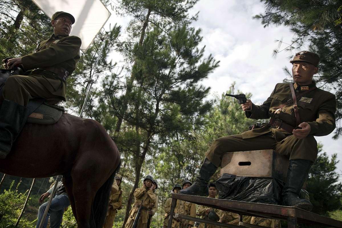 Война и немцы: На съемках китайского телесериала о 2-й мировой войне (8)