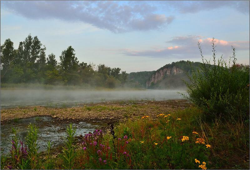 Райские места для туристов! Река Юрюзань!