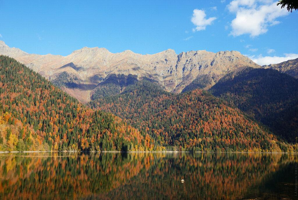 Абхазия. Озеро Рица- часть1