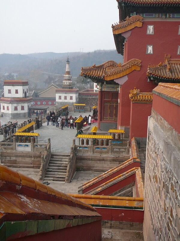 Буддийский храмовый комплекс Путоцзунчэн. Китай