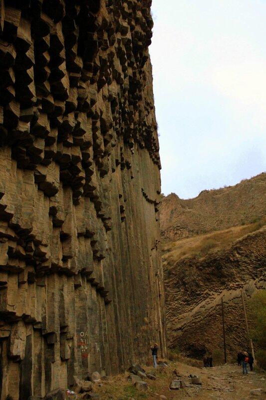 """Армения. Гарни. """"Поющие"""" скалы"""