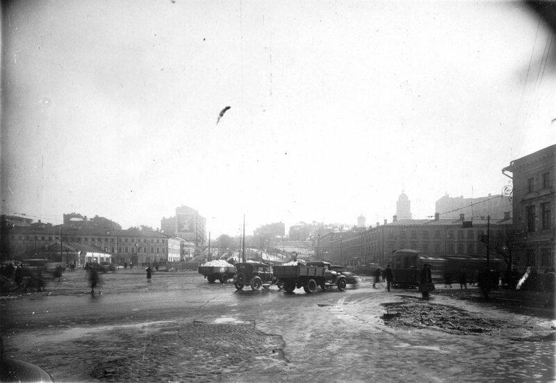 Трубная площадь. 1930-е гг.