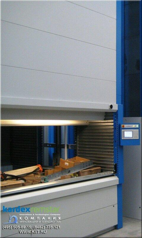 монтаж автоматизированного складского комплекса