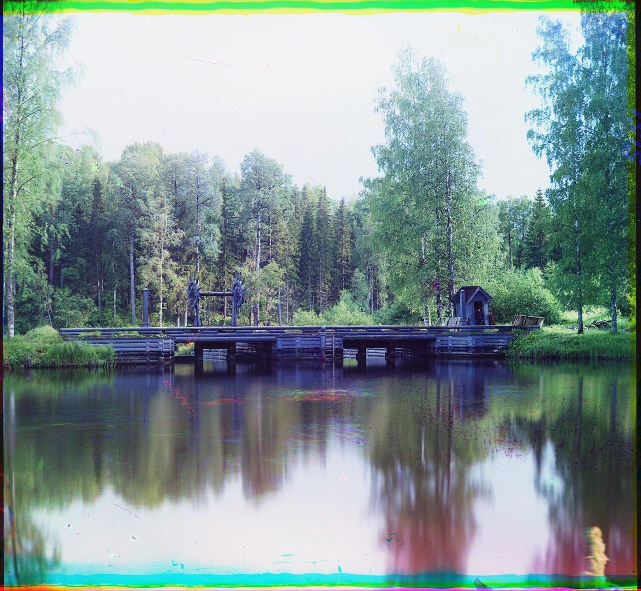 Ковжская плотина.1909 год