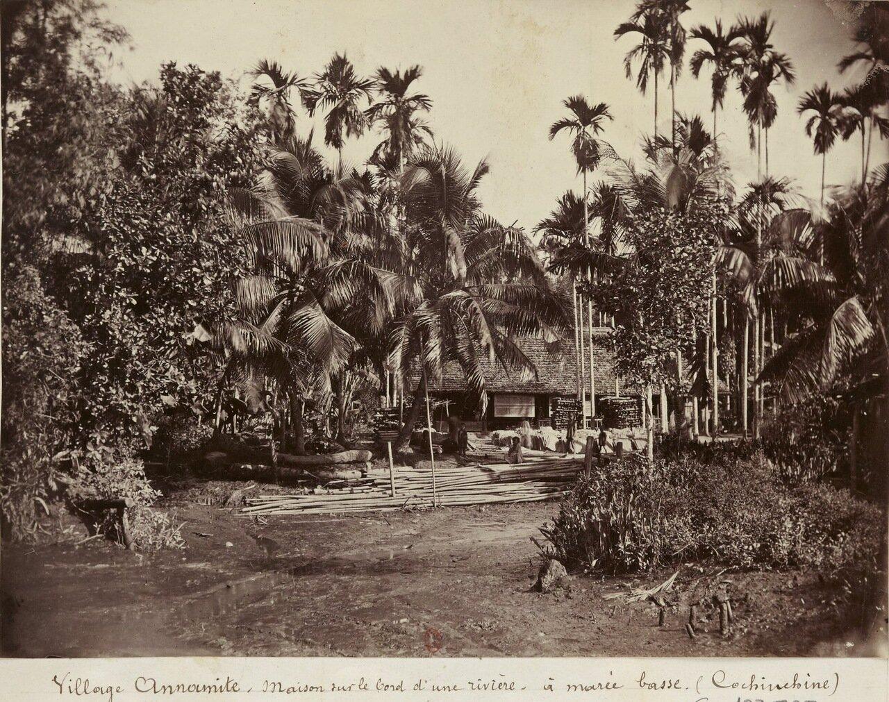 Французская Кохинхина. Деревня Аннамитов