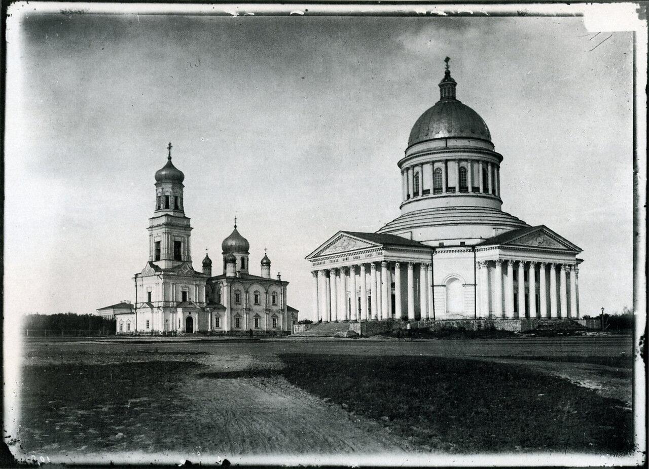Кафедральный собор в Симбирске. 1894.