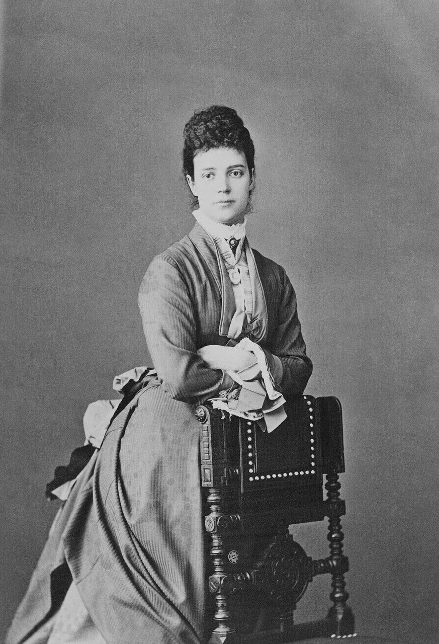 Мария Федоровна 1880 г.