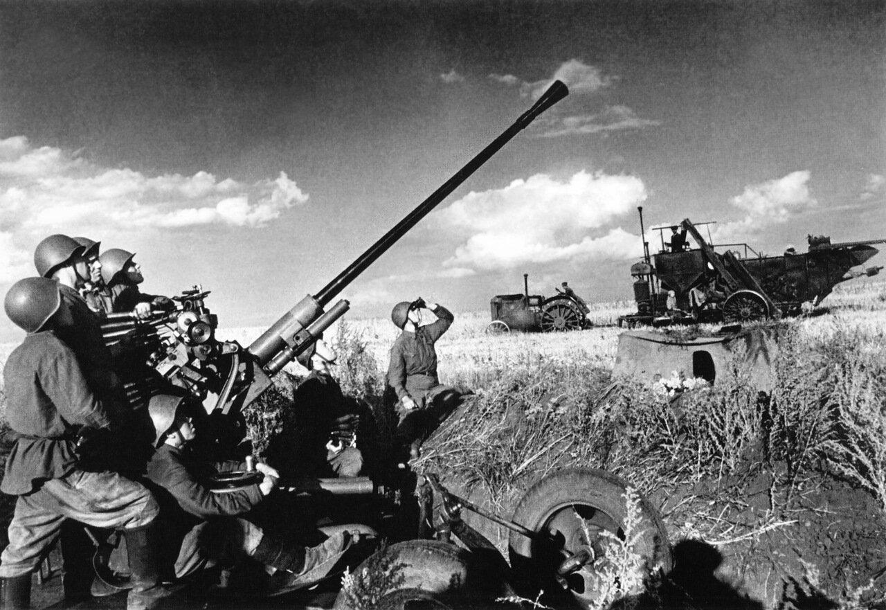 Охраняя небо Родины (Попытка собрать урожай первого года войны) 1941 г.