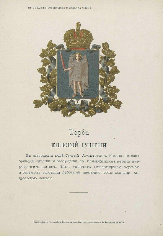 Киевская губерния 1880 год