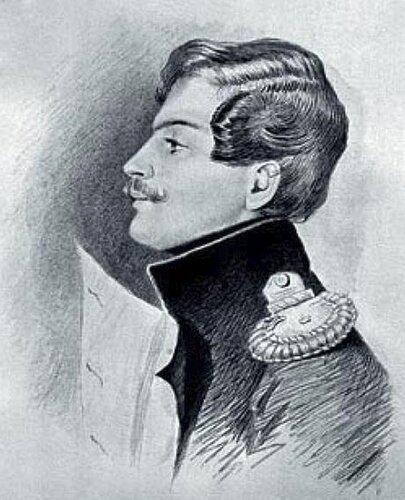 Эдмон Дантес в 30-е годы, худ Томас Райт_(ок.1790-92.--1850-е)
