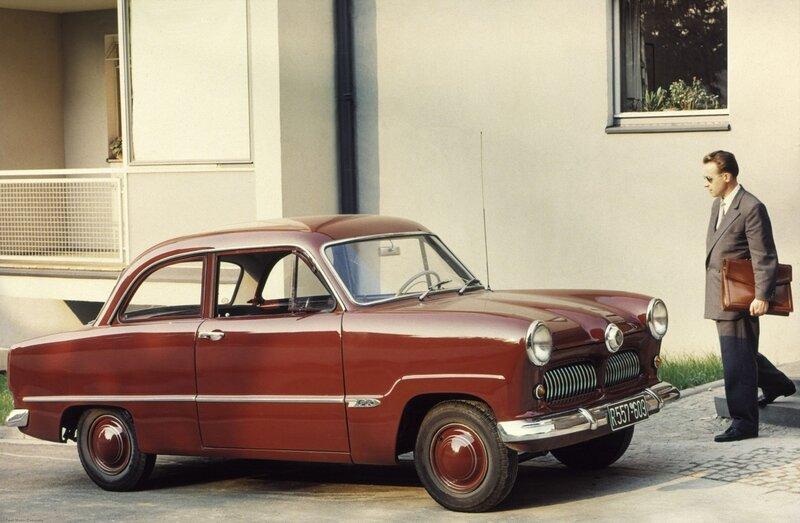 Ford Taunus 12M- 1952-55