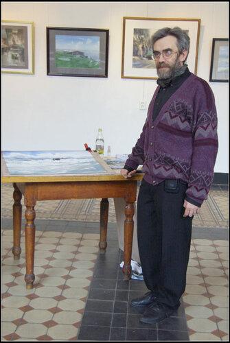 Сергей Темерев акварельный мастер-класс 16 апр 2013