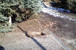 Ещё один памятник советской эпохи в Кишинёве уничтожен