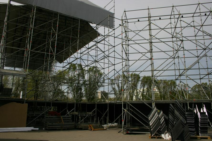 ФОТОФАКТ: Запорожье в ожидании зрелищ: на «Радуге» идут подготовки к концерту, фото-2