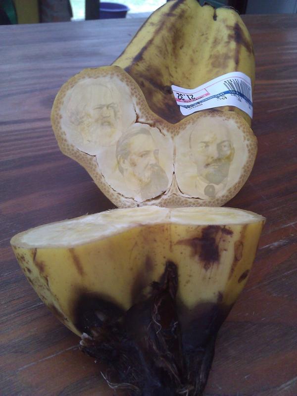 На рынках Москвы появились странные бананы