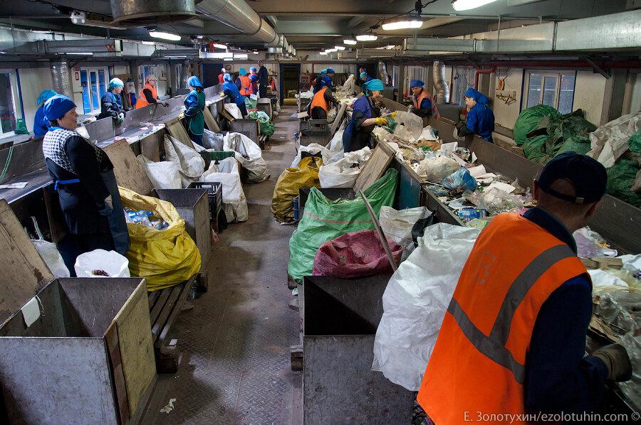 Как перерабатывают мусор в Новокузнецке