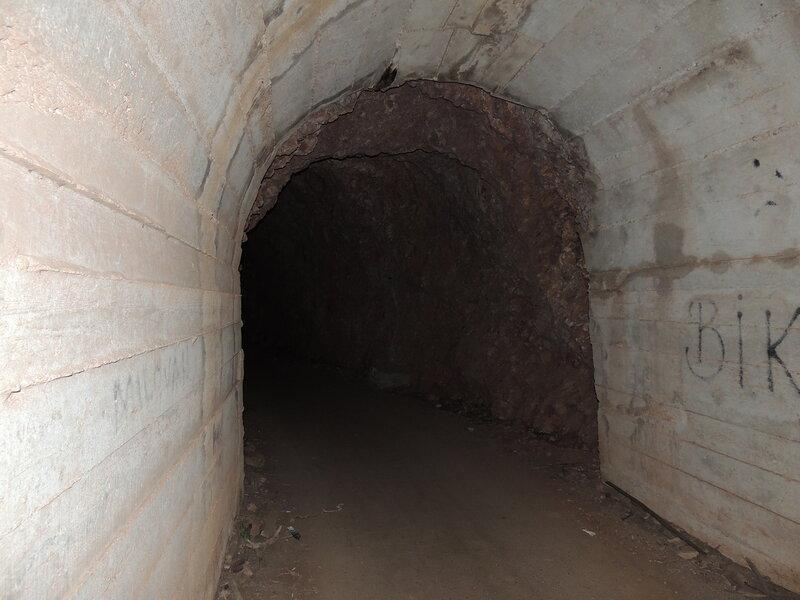 Туннель по дороге от Петровца к Перазича До