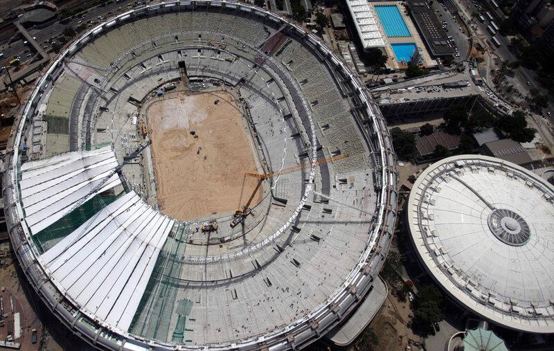 Стадион Маракана готовится к чемпионату мира 0 d9b74 6d41bb51 XL чемпионаты футбол фотографии стадионы Рио де Жанейро реконструкции Маракана Бразилия
