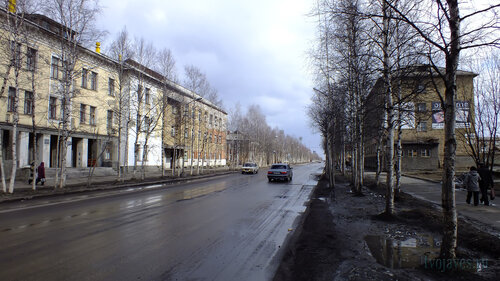 Фото города Инта №4314  Кирова 36 и 27 05.05.2013_12:56