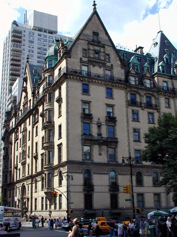 "История одного знаменитого дома. ""Дакота"", Манхэттен, Нью-Йорк"