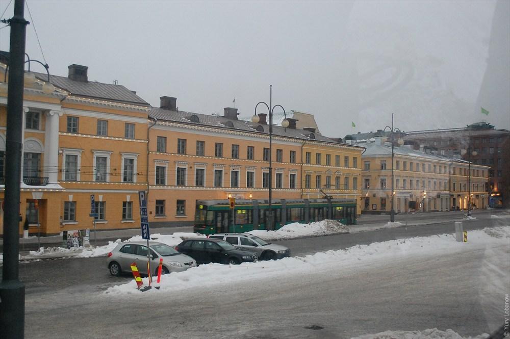 Хельсинки Парковка платная